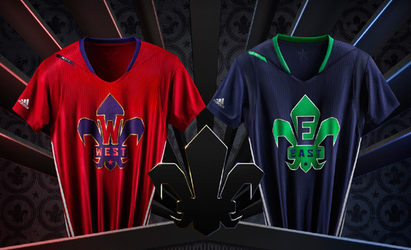 adidas and NBA Unveil NBA All-Star 2014 Uniforms 1