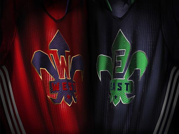 adidas and NBA Unveil NBA All-Star 2014 Uniforms 2