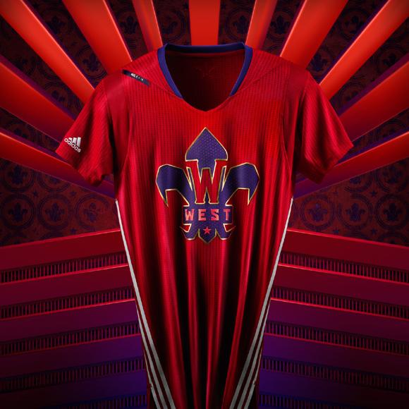 adidas and NBA Unveil NBA All-Star 2014 Uniforms 3