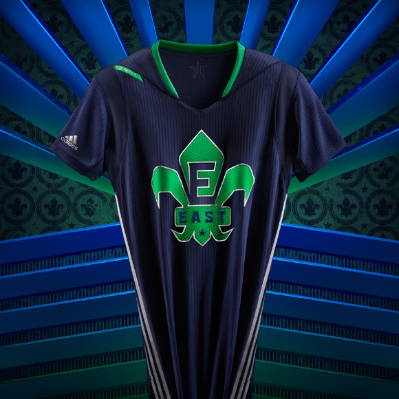 adidas and NBA Unveil NBA All-Star 2014 Uniforms 6