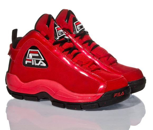 Fila 96 Fire Red Black – Metallic Silver – Another Look 1