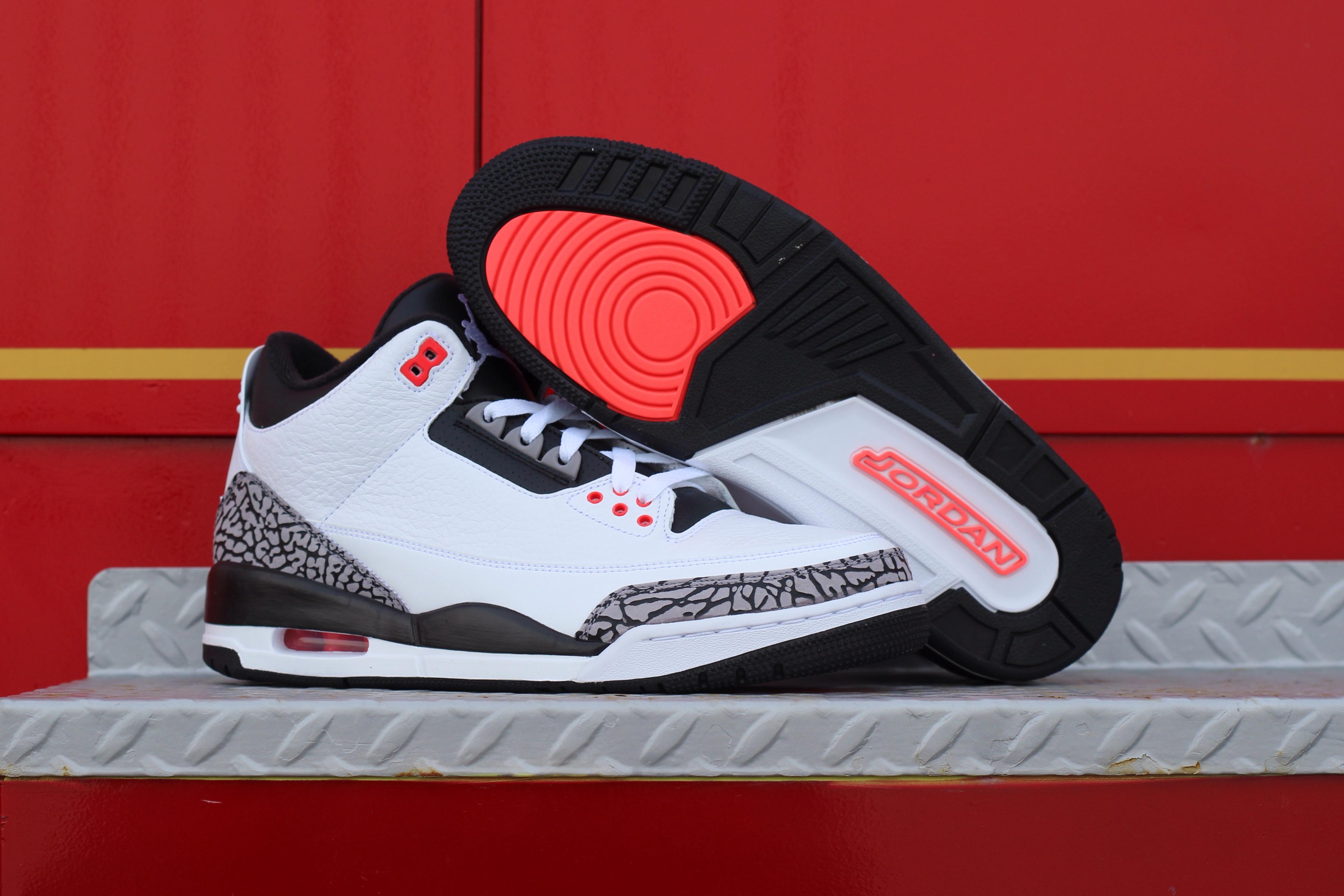sale retailer 07025 54fe6 Air Jordan 3 Retro 'Infrared 23′- Another Look - WearTesters