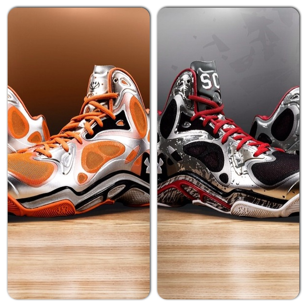 Two New Under Armour Anatomix Spawn Stephen Curry PE Colorways