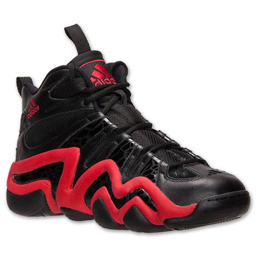 adidas Crazy 8 Black Light Scarlet - Available Now 1