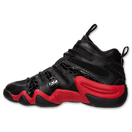adidas Crazy 8 Black Light Scarlet - Available Now 4