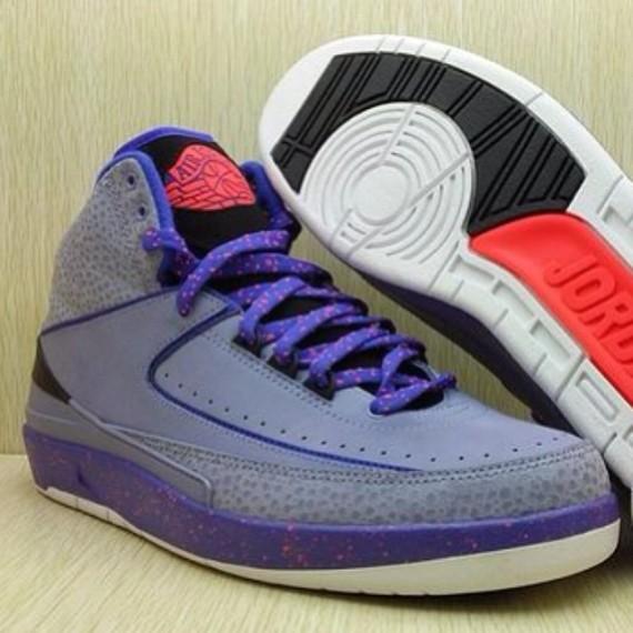 Air Jordan 2 Purple:Red:Black – First Look