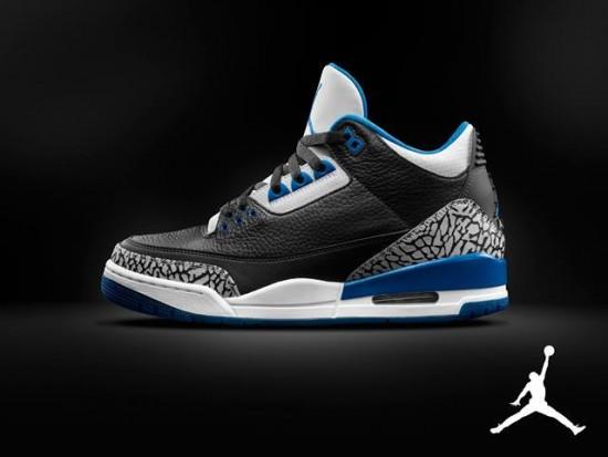 Air Jordan 3 'Sport Blue'- Official Look