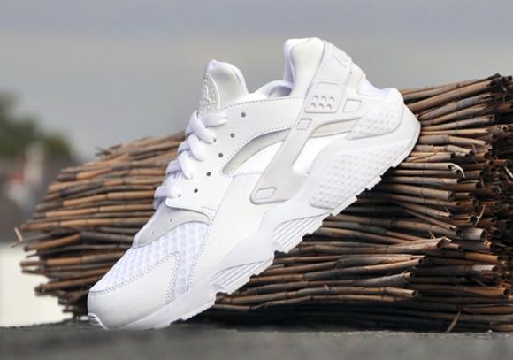 Huarache White-3