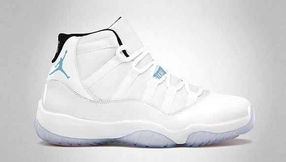 Jordan XI Retro Legend Blue - Release Date