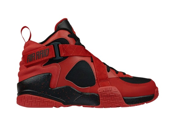 Nike Air Raid Black University Red