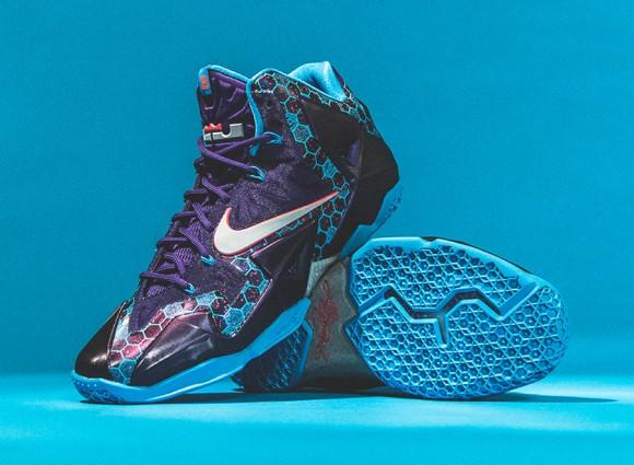 Nike LeBron XI 'Hornets' – Detailed Look + Release Info 1