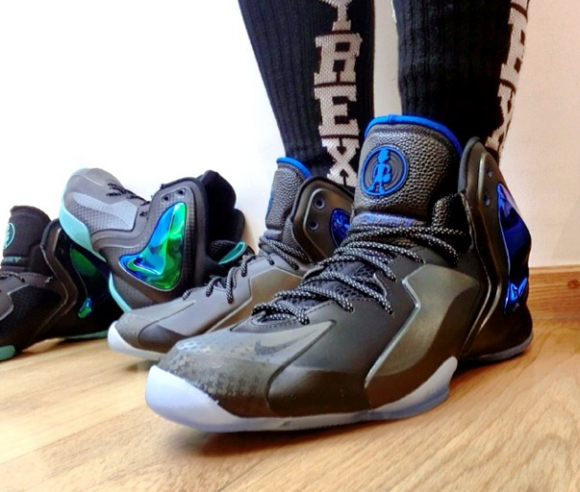 Nike Lil' Penny Posite 'Orlando: Shooting Stars' - Detailed Look + On Foot 1