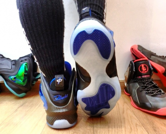 Nike Lil' Penny Posite 'Orlando: Shooting Stars' - Detailed Look + On Foot 3