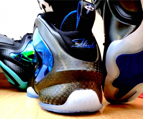 Nike Lil' Penny Posite 'Orlando: Shooting Stars' - Detailed Look + On Foot 4