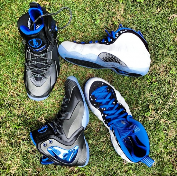 Nike Lil' Penny Posite 'Orlando: Shooting Stars' - Detailed Look + On Foot 6
