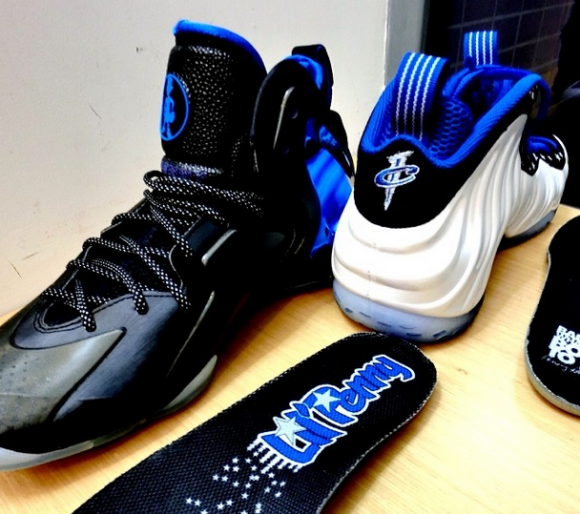 Nike Lil' Penny Posite 'Orlando: Shooting Stars' - Detailed Look + On Foot 8