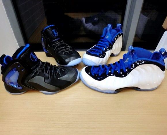 Nike Lil' Penny Posite 'Orlando: Shooting Stars' - Detailed Look + On Foot 9