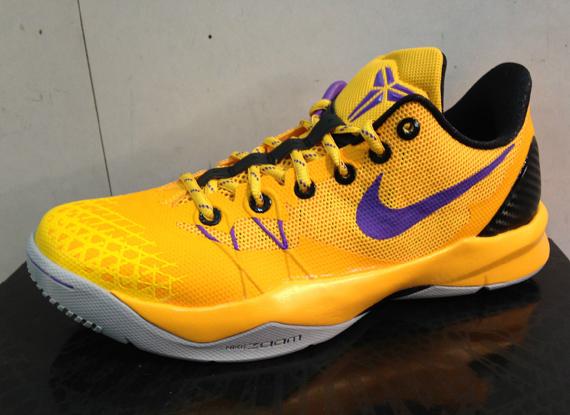 Nike Zoom Kobe Venomenon IV 'Lakers' – First Look 1