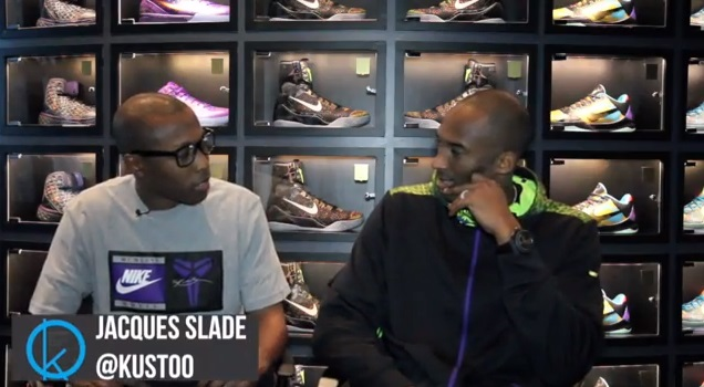 Sit Down Interview with Kobe Bryant Retro Kicks, Kobe 9 Elites & More
