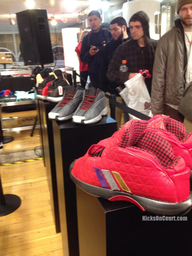 adidas Crazy 1 X Compound Gallery Event Recap
