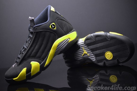 Air Jordan 14 'Thunder' Retro – Detailed Look 4