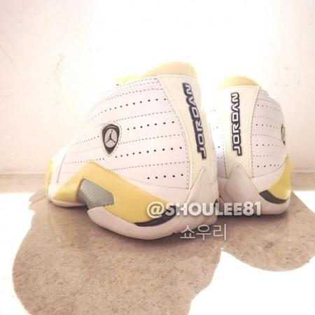 Air Jordan 14 (White:Maize) 3