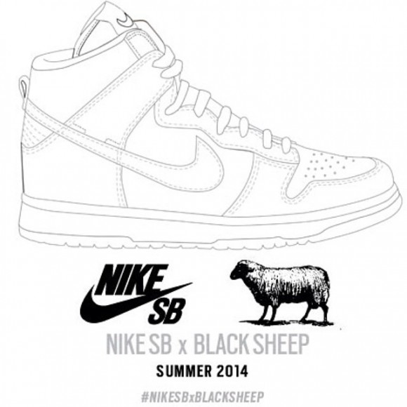 Black Sheep Skate Shop Teases Nike Dunk SB Collab 2