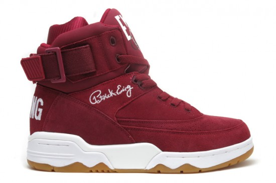 Ewing Athletic 33 Hi (Burgundy) 1