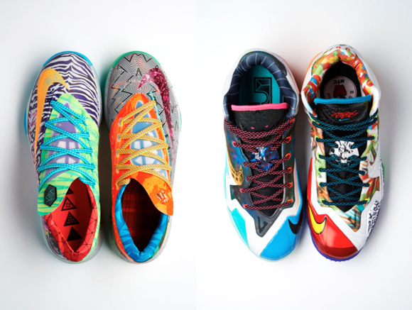 Inside Access Nike 'What The' Series Continues with the KD 6 & LeBron 11 2