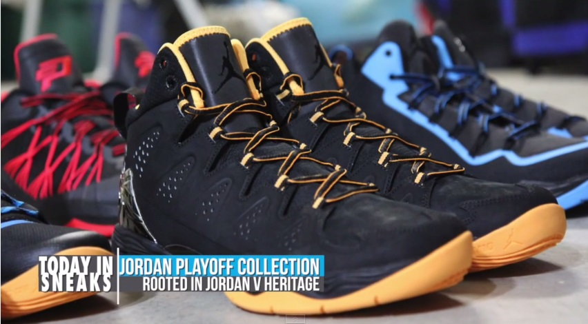 Jordan Brand Playoff Pack 2014 on Today in Sneaks with Jacques Slade  Daily Recap