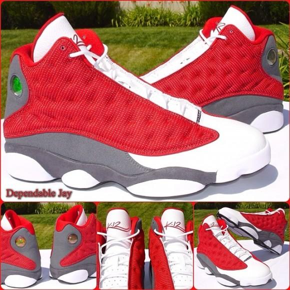 Kevin Martin Air Jordan 13 PE 'Houston Rockets'