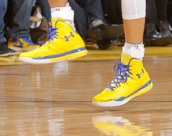 New Under Armour Sneaker Worn By Stephen Curry