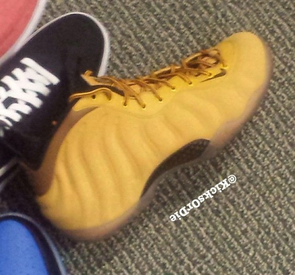 Nike Foamposite One 'Wheat' Sample – First Look