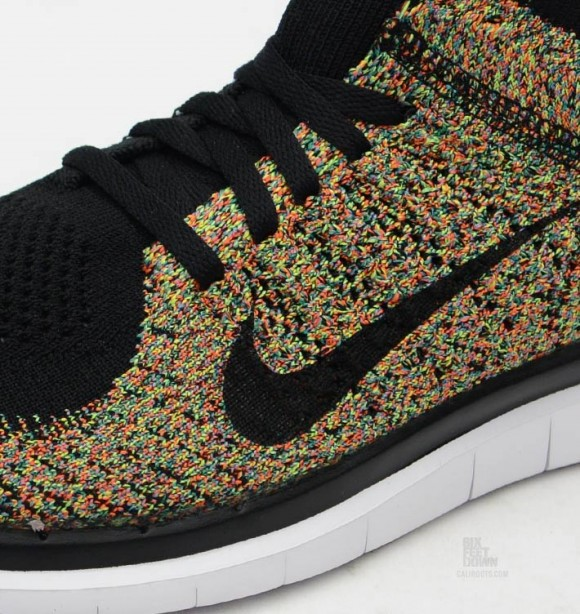 Nike Free 4.0 Flyknit 'Multicolor' WearTesters