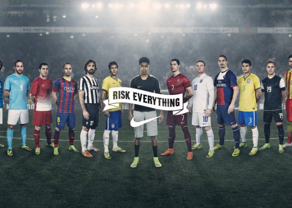Nike Launches 'Risk Everything' Ad Campaign