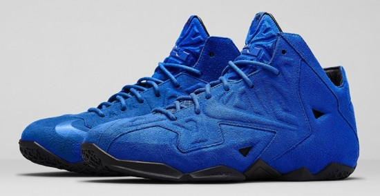 """Nike LeBron 11 EXT """"Blue Suede"""" – Release Date 2"""