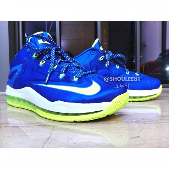 Nike LeBron 11 Low 'Sprite' – First Look 1