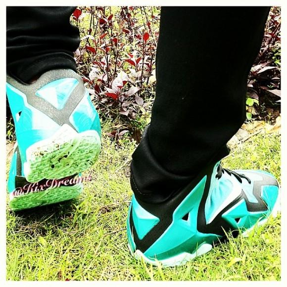 Nike LeBron 11 'South Beach' - On-Feet Look 3
