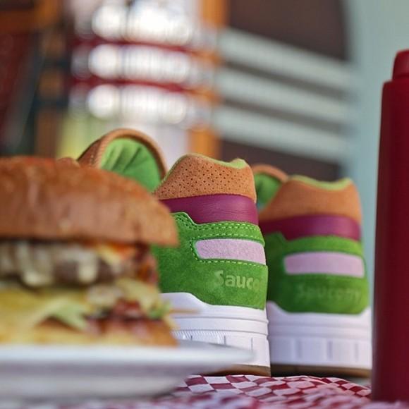 Saucony x END. Shadow 5000 'Burger' – Teaser 1