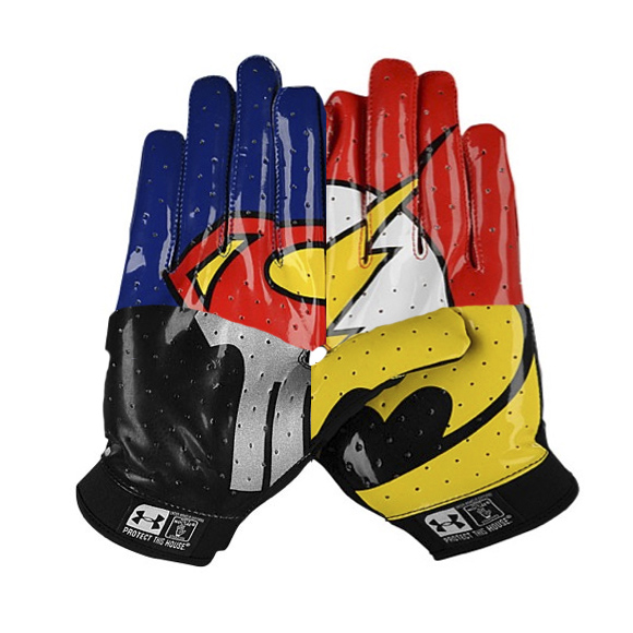 Under Armour F4 Superhero Football Gloves – Featured Image