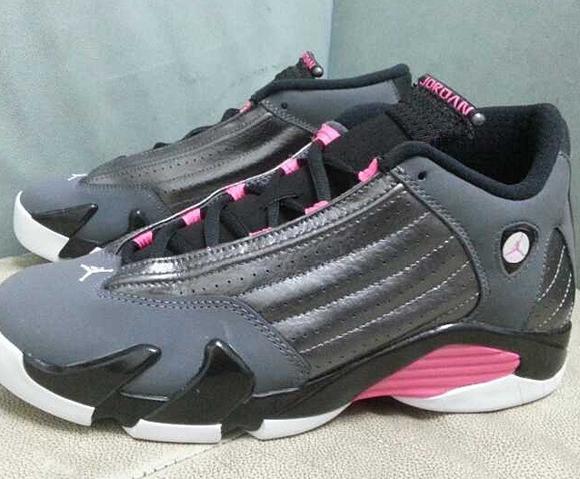 Air Jordan 14 Retro GS 'Rave Pink' 1