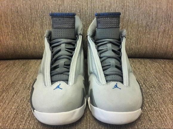 Air Jordan 14 Retro 'Sport Blue' - Another Look 2