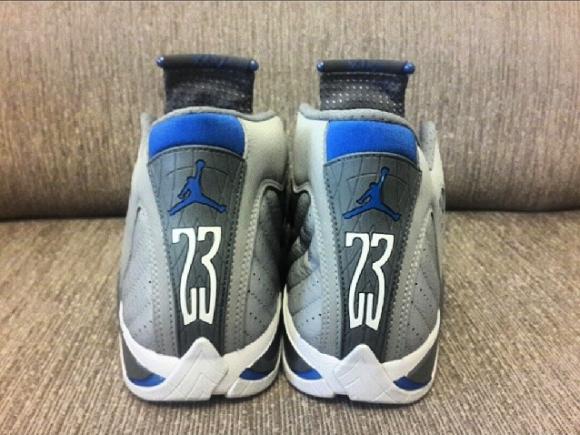 Air Jordan 14 Retro 'Sport Blue' - Another Look 3