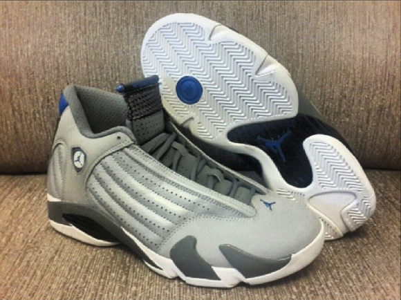 Air Jordan 14 Retro 'Sport Blue' – Another Look 4