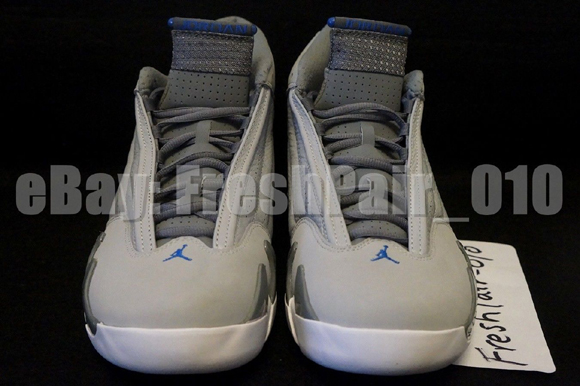 Air Jordan 14 Retro 'Sport Blue' - Detailed Look 2