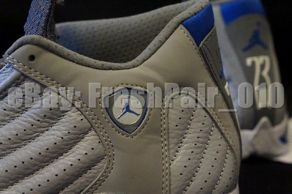 Air Jordan 14 Retro 'Sport Blue' - Detailed Look 3