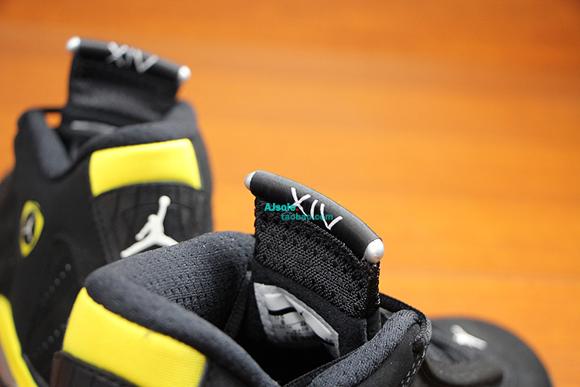 Air Jordan 14 Retro 'Thunder' - Up Close & Personal 11