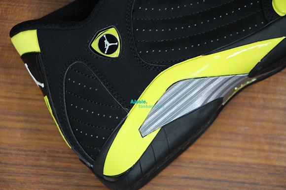 Air Jordan 14 Retro 'Thunder' - Up Close & Personal 8