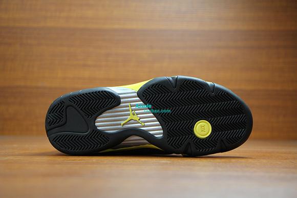 Air Jordan 14 Retro 'Thunder' - Up Close & Personal 9