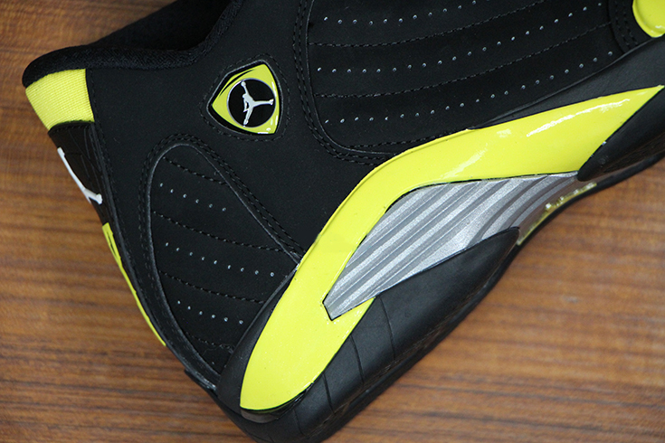 Air Jordan 14 Retro 'Thunder' – Up Close & Personal